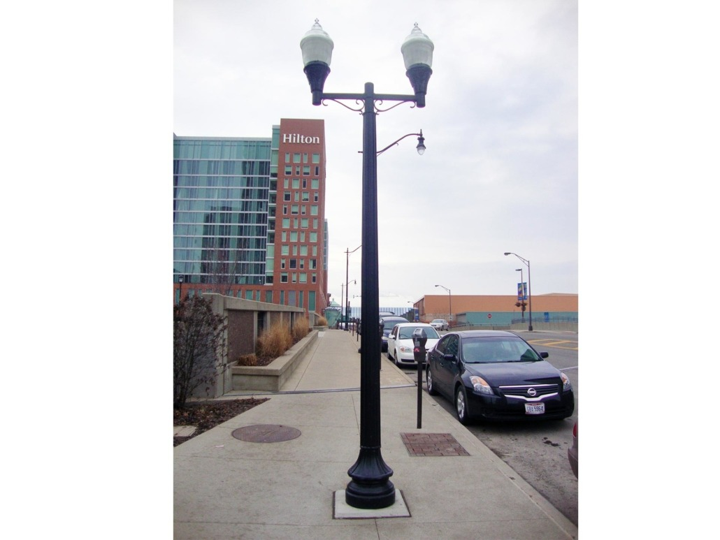 SHORT NORTH STREET LIGHTING